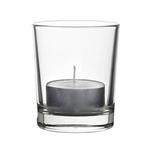 Подсвечник d=62, h=55 мм Алания для свечи-гильзы стекло Б /24/