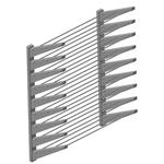 Полка навесная ITERMA 430 ПД-5-600/300 для ДОСОК