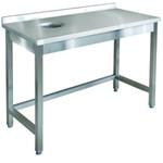 Стол для сбора отходов ITERMA 430 СБ-241/1207 ЛЕВЫЙ