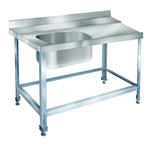 Стол для грязной посуды ITERMA 430 СБ-361/1300/700 ТПММ/М