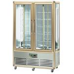 Шкаф-витрина кондитерский APACH AVP700G SNELLE бронза