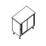 Стол раздаточный KOVINASTROJ нейтральныый NPV-10-6