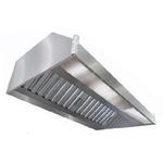 Зонт вытяжной пристенный ITERMA ЗВП-1400х1000х350