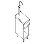 Стол-вставка 700 серии KOVINASTROJ BM-T47/PRB 55954