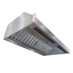 Зонт приточно-вытяжной пристенный ИТЕРМА ЗППВ-2100х1200х450