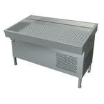 """Прилавок холодильный среднетемпературный ПХС-1,55/1,1 (""""рыба-на-льду, под выносное холодоснабжение)"""