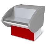 Прилавок П2629 Илеть расчетно-кассовый неохлаждаемый (красный)
