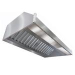 Зонт вытяжной пристенный ITERMA ЗВП-800Х800Х400
