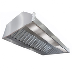 Зонт вытяжной пристенный ITERMA ЗВП-1000Х1000Х400