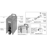 Прокладка кольцевая для всех термоконтейнеров, кроме 350LCD Cambro