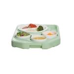 Поднос теплоизолированный с фарфоровой посудой Cambro - Под заказ