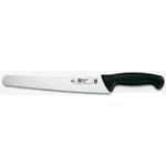 8321T59 Нож кухонный для хлеба лезвие широкое, L=25см., нерж.сталь, ручка пластик, цвет черный
