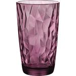 Хайбол «Даймонд»; стекло; 470мл; D=85,H=144мм; фиолет.