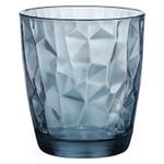 Олд Фэшн «Даймонд»; стекло; 305мл; D=84,H=93мм; синий