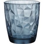Олд Фэшн «Даймонд»; стекло; 385мл; D=91,H=103мм; синий