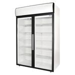 Холодильный шкаф со стеклянными дверьми DV110-S