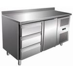 Стол с охлаждаемым шкафом COOLEQ GN2230TN БОРТИК 3 ЯЩИКА+1 ДВЕРЬ
