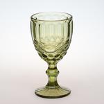 Бокал для вина 300 мл. d=90, h=170 мм зеленый (SR01715SC-2/BHA6) /6/