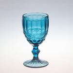 Бокал для вина 250 мл. d=80, h=155 мм синий (SRO1715SC-1/BHA6 BLUE) /6/