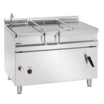 Сковорода электрическая Bartscher 120 л 193060 c ручным опрокидыванием