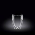 Стакан 130 мл. с двойными стенками Thermo Glass Wilmax /6/72/ АКЦИЯ, Wilmax (Англия)