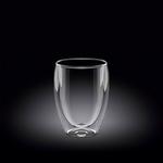 Стакан 200 мл d=65 мм. с двойными стенками Thermo Glass Wilmax