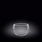 Салатник d=80 мм. 120 мл с дв. стенками Thermo Glass Wilmax