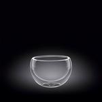 Салатник d=75 мм. 160 мл с дв. стенками Thermo Glass Wilmax /6/120/