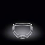Салатник d=85 мм. 250 мл с дв. стенками Thermo Glass Wilmax
