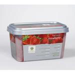 Пюре из малины с/м 10% сахара 1 кг