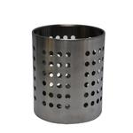 Емкость для столовых приборов (стакан) d=100 мм. h=125 мм. перфор. нерж. MGSteel /1/96/
