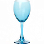 Бокал для вина 240 мл. d=73, h=175 мм. голубой Энжой Б /12/720/ - Под заказ