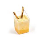 Салатник фуршетный  85 мл. 47*47*70 мм. пластик (12 шт.) (81200526) /1/50/, Китай