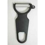 9100G34P Нож кухонный - овощечистка ручная, .см., лезвие- нерж.сталь,ручка- пластик,цвет черный