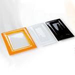 F3-530-01 Блюдо прямоугольное прозрачное 65x53 см