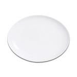S0061 Блюдо овальное без борта 25 см SandStone молочно-белый