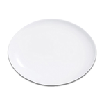 S0062 Блюдо овальное без борта 30 см SandStone молочно-белый