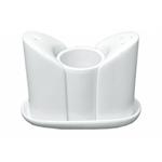 S2846 Набор для специй, 3 предмета на подставке молочно-белый