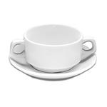S6799 Бульонница круглая 38 cl, SandStone молочно-белый