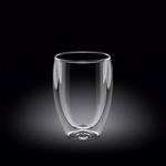 Стакан 250 мл с двойными стенками Thermo Glass Wilmax /1/60/