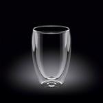 Стакан 300 мл с двойными стенками Thermo Glass Wilmax /1/60/