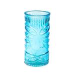 Стакан для коктейлей «Тики» аква, 400 мл, 15*7,5 см, стекло