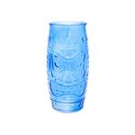 Стакан для коктейлей «Тики» аква, 500 мл, 17*7,5 см, стекло