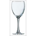 Бокал для вина 190 мл. d=60/70, h=165 мм красн. Принцесса /12/24/ (25569)