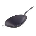 Сковорода Wok d=32 см. голубая сталь (индукция) De Buyer /1/3/