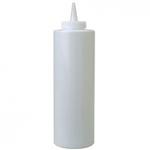 Емкость для соуса375 мл. с крышкой белая MG /1/24/ ТП