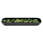 Салатник восьмиугольный 3,7л. черный Cambro