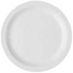 Тарелка с узким ободком 21см белая Cambro
