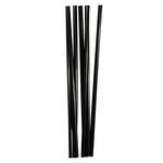Трубочки кокт. 0,8*24 см. 250 шт/уп. черные прямые MILK /1/23/
