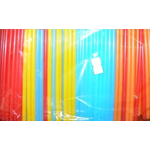 Трубочки кокт. 0,5*12,5 см. 400 шт/уп. цветные Mini /1/50/